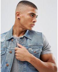 ASOS - Design Stone Look Plug Earrings In Black for Men - Lyst