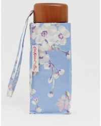 Cath Kidston - Blue Tiny Wellesley Blossom Umbrella - Lyst