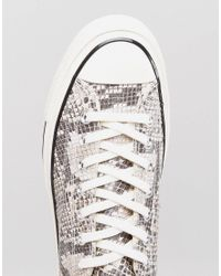 Converse - Chuck Taylor All Star '70 Snake Pack Hi Sneakers In Brown 158857c - Lyst