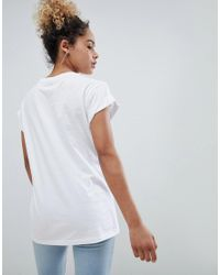 ASOS White Asos Design Petite T-shirt With Floral Tiger Allure Print