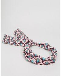 ASOS - Multicolor 60's Printed Headscarf - Lyst