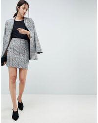 ASOS - Multicolor Mini Skirt In Colored Check - Lyst