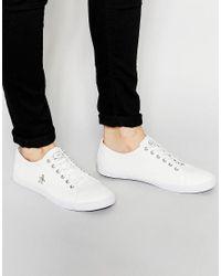 Original Penguin - White Brewton Sneakers for Men - Lyst