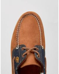 Timberland - Blue Classic Denim Boat Shoes for Men - Lyst