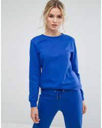 South Beach - Blue Sweatshirt In Cobalt - Lyst