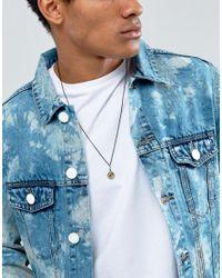 Icon Brand - Bullet Pendant Necklace In Matte Black for Men - Lyst