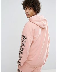 Napapijri - Badstow Zip-thru Hoodie In Pink for Men - Lyst