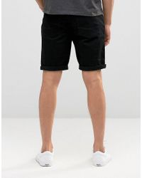 ASOS - Blue 2 Pack Skinny Denim Shorts Save for Men - Lyst