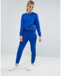 South Beach - Blue Sweatshirt In Cobalt - Lyst