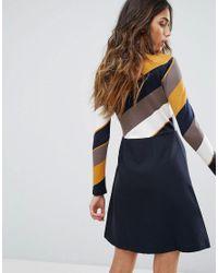 Traffic People - Natural Skater Dress - Lyst