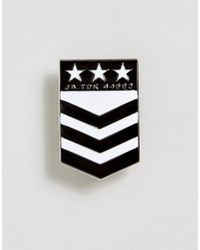 ASOS - Multicolor Pin Badge In Military Design - Lyst