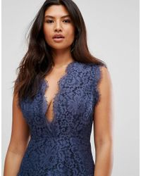 Talulah - Blue Midnight Dream Mini Dress - Lyst