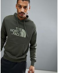 The North Face - Drew Peak Pullover Hoodie In Green for Men - Lyst