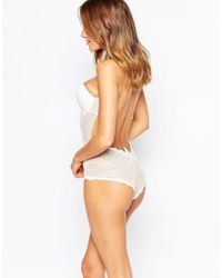 Fashion Forms - White Lace Backless Strapless Bridal Body - Lyst