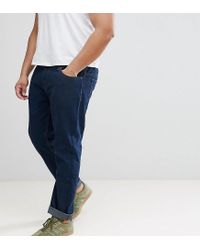 Loyalty & Faith - Loyalty And Faith Plus Regular Fit Jeans In Darkwash Blue for Men - Lyst
