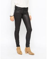 Esprit | Black Coated Skinny Jean | Lyst
