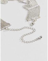 Coast - Metallic Large Choker Necklace - Lyst