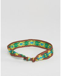 ASOS - Multicolor Festival Geometric Multi Colour Bracelet Pack for Men - Lyst