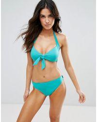 Seafolly - Blue Retro Hipster Bikini Bottom - Lyst