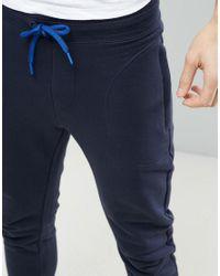 Sisley - Blue Joggers for Men - Lyst