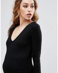 Isabella Oliver - Black Vera Maternity Dress - Lyst