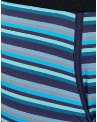 Paul Smith - Striped Trunk In Blue for Men - Lyst