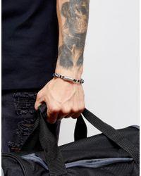 Classics 77 - Blue Aztec Woven Bracelet for Men - Lyst