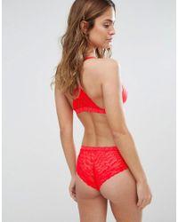 Bonds - Red Galloon Lacie Hot Shortie Brief - Lyst