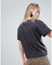 Bershka - Black Jurassic Park T Shirt - Lyst