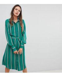 Y.A.S - Multicolor Stripe Shirt Dress - Lyst