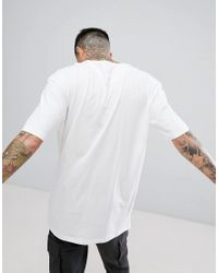New Look - Boxy Fit T-shirt With Pocket In White for Men - Lyst