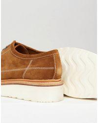 GRENSON - Brown Inigo Suede Monkey Shoes for Men - Lyst