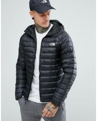 40315397f00c The North Face. Men s Trevail Hooded Lightweight Down Jacket In Black
