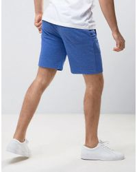 Jack & Jones - Blue Sweat Shorts for Men - Lyst
