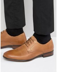 Red Tape - Brown Lace Up Smart Shoes In Tan Leather for Men - Lyst