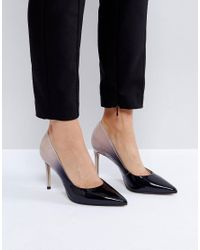 Carvela Kurt Geiger | Black Alison Ombre Patent Court Shoes | Lyst