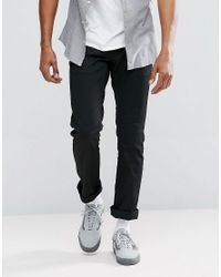 Brixton - Black Reserve Chino In Standard Fit for Men - Lyst