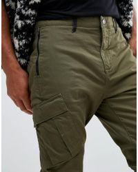 Timberland - Tapered Cargo Pants In Green for Men - Lyst