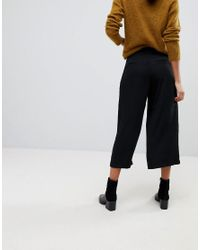 SELECTED - Black Femme Cropped Pants - Lyst