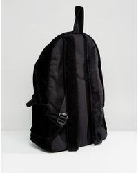ASOS - Asos Suede Backpack In Black for Men - Lyst