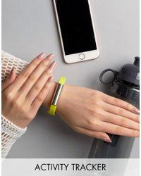 Misfit Green Ray Neon Activity Tracker for men