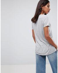 ASOS - Multicolor V-neck Swing T-shirt 2 Pack Save 10% - Lyst