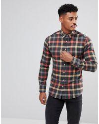 Kronstradt Multicolor Kronstadt Dean Checked Shirt for men
