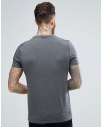 ASOS - Gray Muscle Fit T-shirt With Crew Neck 5 Pack Save for Men - Lyst
