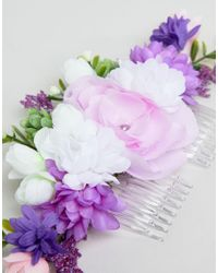 ASOS - Multicolor Design Occasion Spring Bloom Hair Clip - Lyst