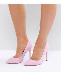 ASOS - Pink Asos Paris Pointed High Heels - Lyst