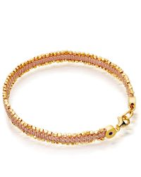 Astley Clarke - Metallic Peach Blush Nugget Biography Bracelet - Lyst