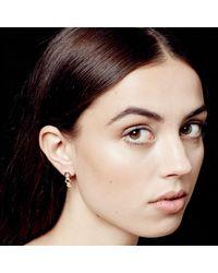 Astley Clarke - Multicolor Plain Triple Honeycomb Stud Earrings - Lyst