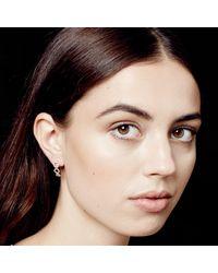 Astley Clarke - Multicolor Triple Honeycomb Stud Earrings - Lyst
