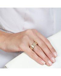 Astley Clarke - Pink Peach Blush Prismic Weave Ring - Lyst